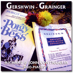 Music of George Gershwin and Percy Grainger